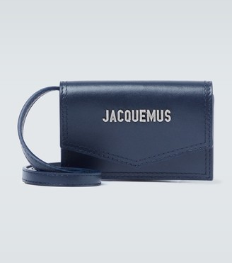 Jacquemus Le Porte Azur leather bag