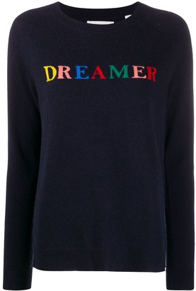 Chinti and Parker Dreamer intarsia knit jumper