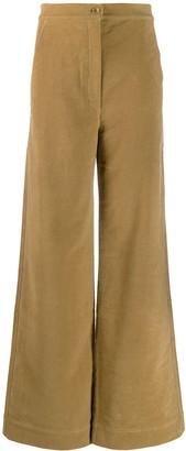 Katharine Hamnett high rise palazzo trousers