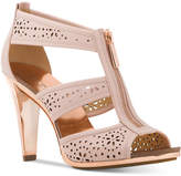 MICHAEL Michael Kors Berkley Perforated T-Strap Sandals