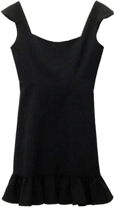 Nanette Lepore Cap Sleeve Flounce Hem Dress