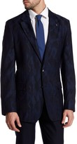 Robert Graham Albert Bridge Two Button Notch Lapel Classic Fit Wool Jacket