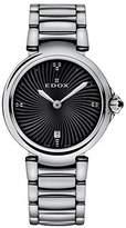 Edox Women's 57002 3M NIN LaPassion Analog Display Swiss Quartz Silver Watch