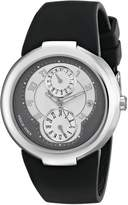 Philip Stein Teslar Women's 31-AGRW-RBB Active Black Rubber Strap Watch