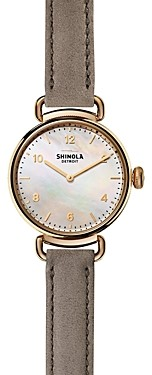 Shinola Canfield Watch, 32 mm