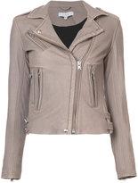IRO biker jacket - women - Lamb Skin/Rayon - 34