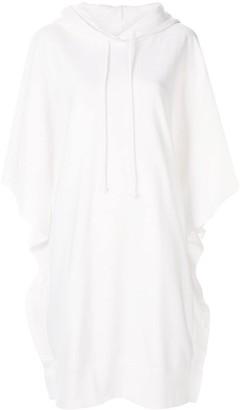 MM6 MAISON MARGIELA short hoodie dress