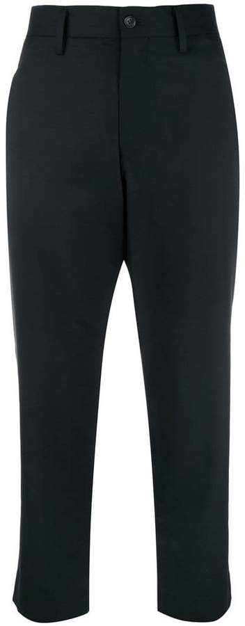 Y's cropped trousers