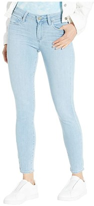 Paige Verdugo Ankle Jeans in Icicle Distressed Hem (Icicle Distressed Hem) Women's Jeans