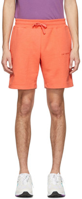 Aimé Leon Dore Orange French Terry Logo Shorts