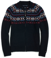 Tommy Hilfiger Fair Isle Zippered Sweater