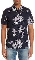 Insight Fuji Bamboo Print Slim Fit Button-Down Shirt
