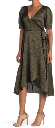 Bobeau Lumi Wrap Midi Dress