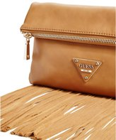 GUESS Factory Thompson Fringe Clutch