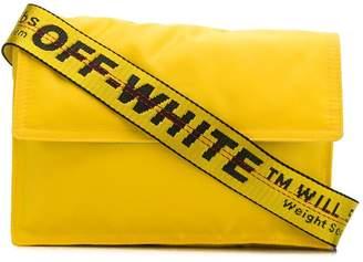 Off-White Off White binder clip cross body bag