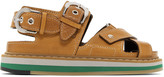 Maison Margiela Tan Brushed Effect Leather Sandals