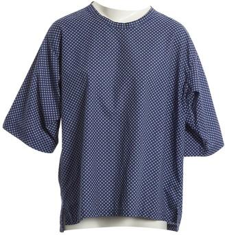Dolce & Gabbana Navy Cotton T-shirts
