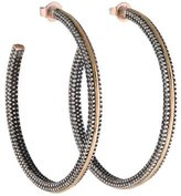 Moritz Glik Two-Tone Hoop Earrings