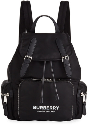 Burberry Nylon Medium Drawstring Backpack