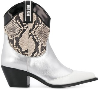 MSGM Western Style Boots