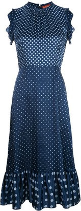 Altuzarra Rosa polka dot dress