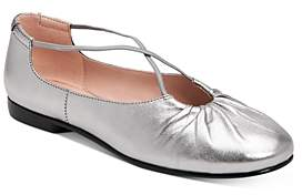 Taryn Rose Women's Alessandra Leather Ballet Flats