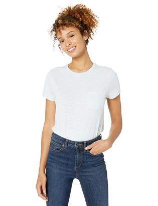 Goodthreads Amazon Brand Women's Vintage Cotton Pocket Crewneck T-Shirt