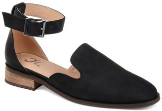 Journee Collection Loreta Ankle Buckle Flat