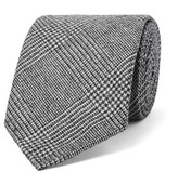 Drake's - 8cm Prince Of Wales Checked Wool And Cashmere-blend Tie