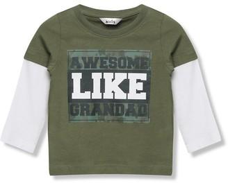 M&Co Grandad slogan t-shirt (9mths-5yrs)
