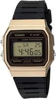 Casio Men's 'Classic' Quartz Metal and Resin Casual Watch