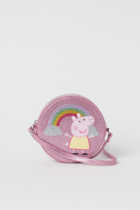 H&M Shoulder Bag with Design - Pink