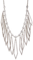 Jessica Simpson Crystal Detail Diamond Shaped Drop Necklace