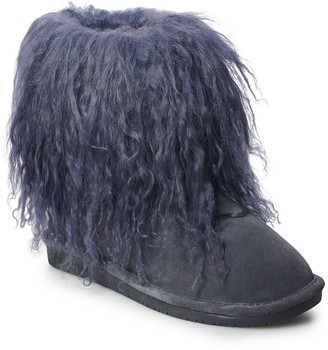 BearPaw Boo Women's Curly Lamb Boots