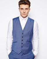 Reiss Suit Waistcoat In Regular Fit