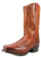 Dan Post Dp2412 Square Toe Leather Western Boot.
