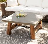 Pottery Barn Abbott Square Coffee Table