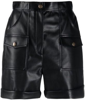 Philosophy di Lorenzo Serafini Flap-Pocket High-Rise Shorts