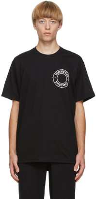 Burberry Black Logo Crest T-Shirt