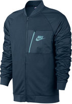 Nike Men's Advance 15 Fleece Bomber Jacket