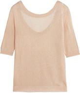 Missoni Metallic stretch-knit top