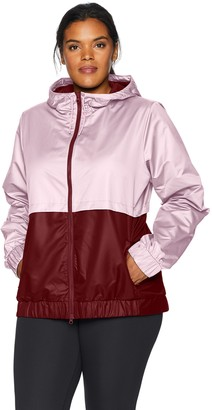Core Products Amazon Brand - Core 10 Women's Plus Size Water-Resistant Performance Windbreaker Jacket