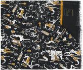 Dolce & Gabbana jazz musicians scarf - men - Cashmere/Modal - One Size