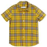 Burberry Short-sleeve Check Cotton Shirt