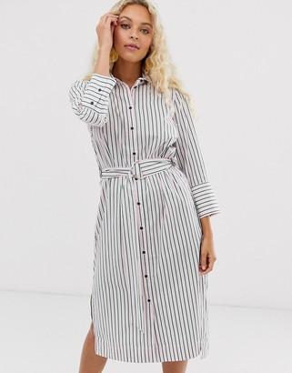 InWear Heloise stripe shirt dress