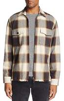 7 For All Mankind Plaid Zip Shirt Jacket