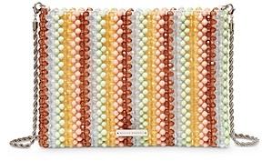 Loeffler Randall Mia Multi-Colored Beaded Clutch