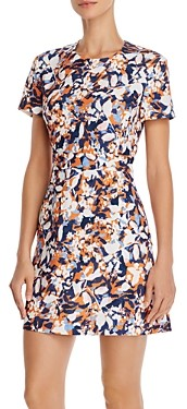 French Connection Enid Abstract Floral-Print Mini Dress