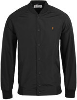Farah Bellinger Black Bomber Jacket