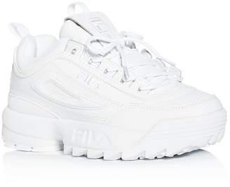 Fila Women's Disruptor II Premium Low-Top Sneakers